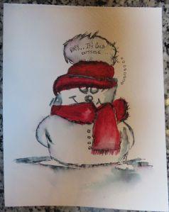 ElegantWriter Snowman (1)