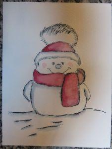 ElegantWriter Snowman (10)
