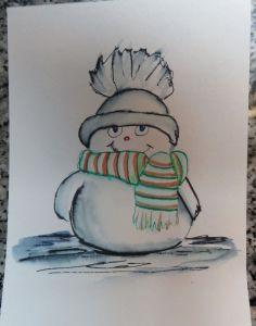 ElegantWriter Snowman (3)
