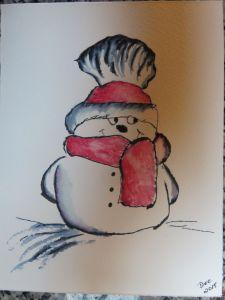 ElegantWriter Snowman (4)