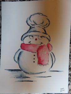 ElegantWriter Snowman (5)